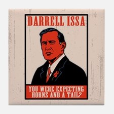 Darrell Issa Tile Coaster