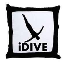 iDive Diving Throw Pillow