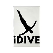 iDive Diving Rectangle Magnet
