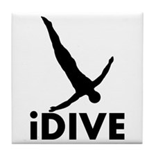 iDive Diving Tile Coaster