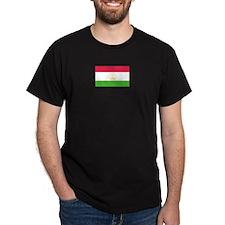 Tajikistan Black T-Shirt