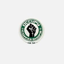 Occupy Coffee Shops Mini Button
