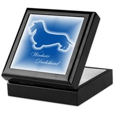 Wirehair Dachshund Keepsake Box