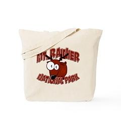 Mt. Rainier Elk Tote Bag