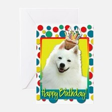 Birthday Cupcake - Eskie Greeting Cards (Pk of 10)