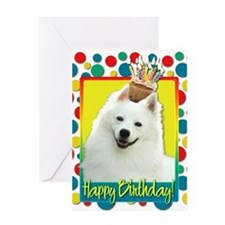 Birthday Cupcake - Eskie Greeting Card