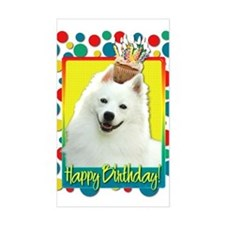 Birthday Cupcake - Eskie Decal