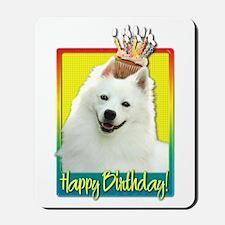 Birthday Cupcake - Eskie Mousepad