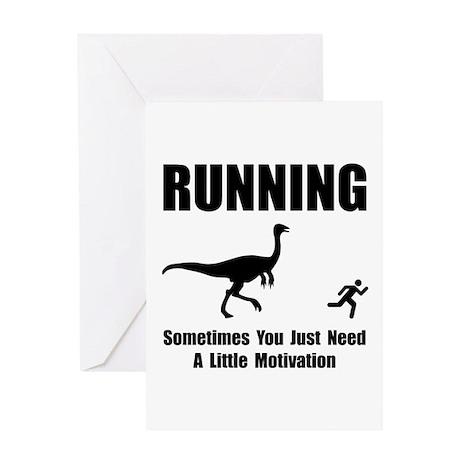 Running Motivation Greeting Card