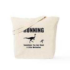 Running Motivation Tote Bag