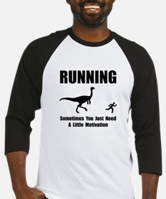 Running Motivation Baseball Jersey