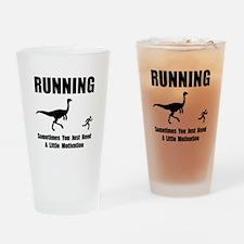 Running Motivation Drinking Glass