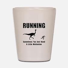 Running Motivation Shot Glass