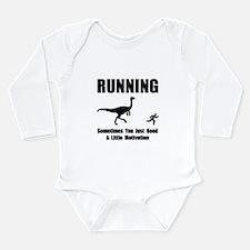 Running Motivation Long Sleeve Infant Bodysuit