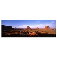 Monument Valley Tribal Park AZ Poster