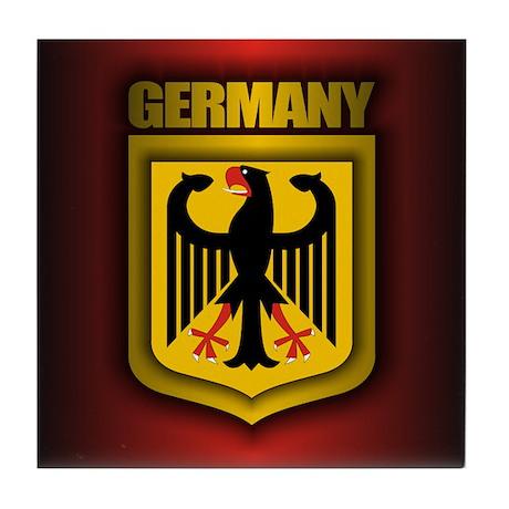 German Steel Tile Coaster