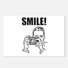 Vintage Camera Smile Postcards (Package of 8)