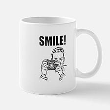 Vintage Camera Smile Mug