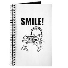 Vintage Camera Smile Journal