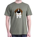 Big Nose St. Bernard Dark T-Shirt