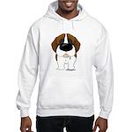 Big Nose St. Bernard Hooded Sweatshirt