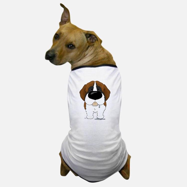 Big Nose St. Bernard Dog T-Shirt