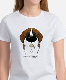 Big Nose St. Bernard Women's T-Shirt