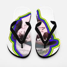 Johnny Vega$ Flip Flops
