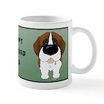 St. Bernard Dad Mug