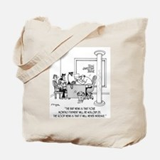 Monthly $24,089 Payment Tote Bag