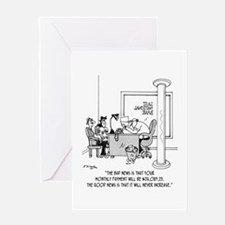 Monthly $24,089 Payment Greeting Card