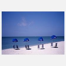 Beach Umbrellas Captiva Island FL