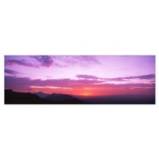 Sunset Sierra Estrella Mountains Phoenix AZ Canvas Art