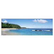 Lumahai Beach Kauai HI Poster