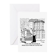 Coffee Stain, Not Roof Design Greeting Cards (Pk o