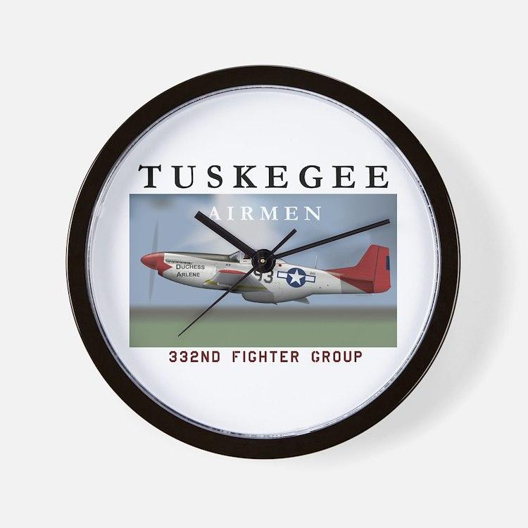Tuskegee Airmen Wall Clock
