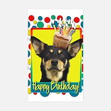 Birthday Cupcake - Kelpie Decal
