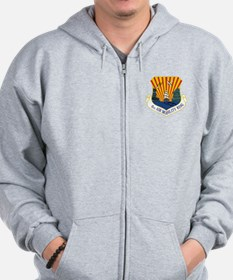 6th Air Mobility Wing Zip Hoodie