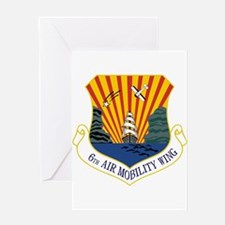 6th Air Mobility Wing Greeting Card