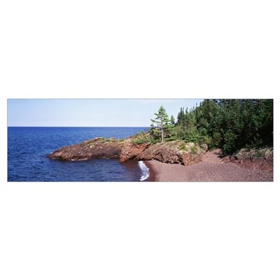 Michigan, Lake Superior, Copper Harbor Poster