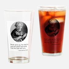 Harriet Beecher Stowe Drinking Glass