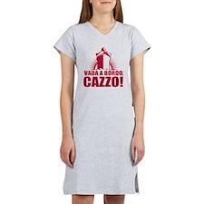 Vada a bordo, cazzo Women's Nightshirt