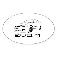 EvoM Decal-White