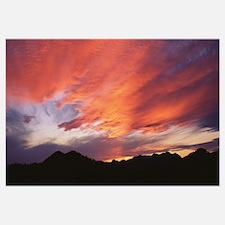 Sunset over Black Hills National Forest Custer Par
