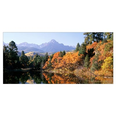 Colorado, Uncompahgre National Forest, Panoramic v Poster