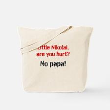 Little Nikolai, are you hurt? Tote Bag