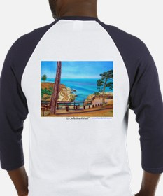La Jolla Beach Path Baseball Jersey