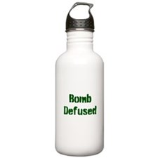 Bomb Defused Water Bottle