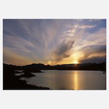Sunrise Temple Bar Lake Mead Recreational Area AZ