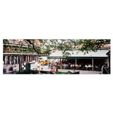 Louisiana, New Orleans, French Quarter, Cafe Du Mo Canvas Art